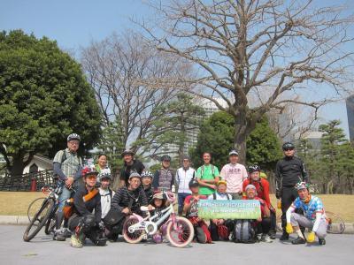 東京アースデイ自転車ライド試走 20130310