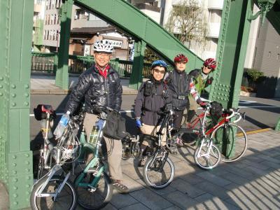 神田川川上りと多摩湖ポタリング 20101211