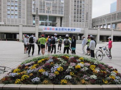 東京夢舞いマラソン/ポタリング試走会 20110409