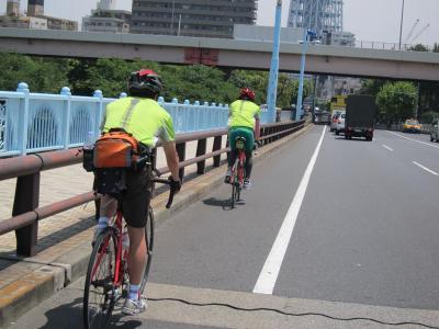 東京夢舞いポタリング試走会 20110604